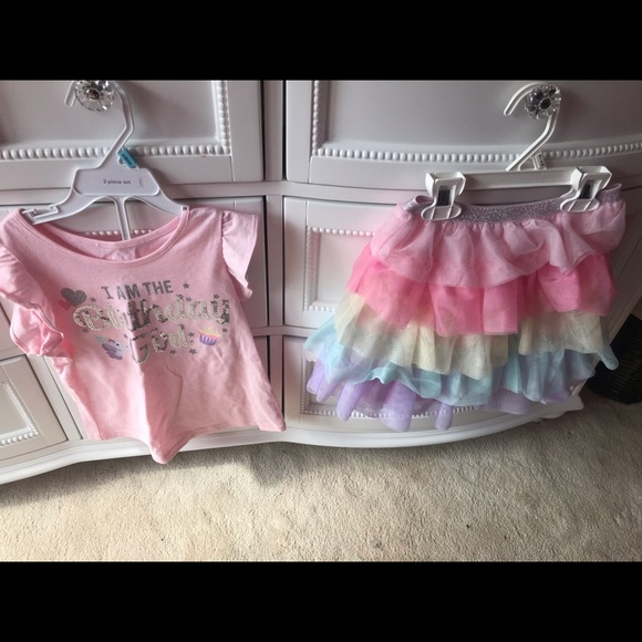 NWT The Children's Place Birthday Outfit 4t
